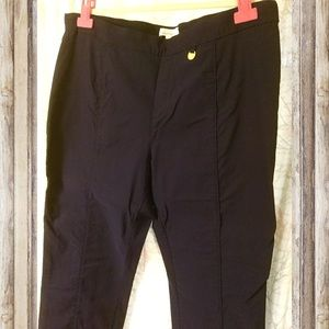 Ellen Tracy Navy Blue Stretchy Pants